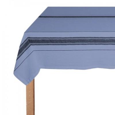 Mantel vasco de lino azul