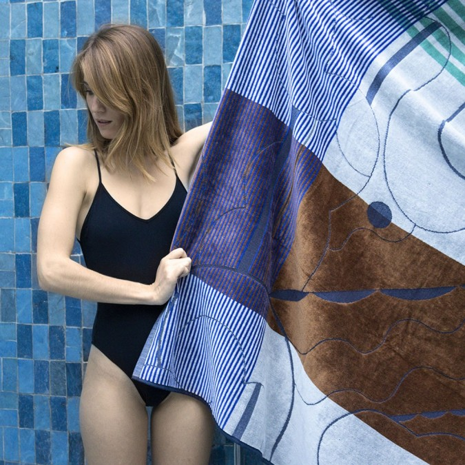 beach towel hight quality and graphic