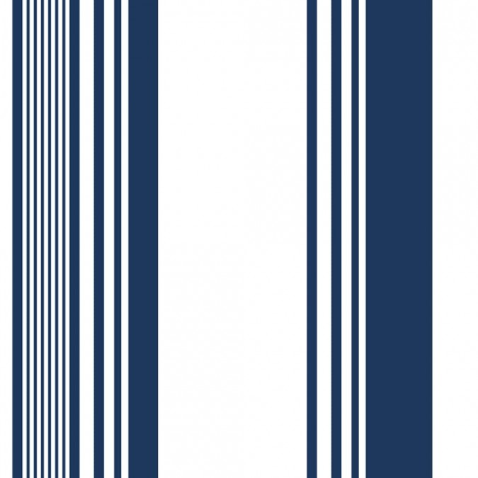 Ascain Blue cotton fabric by the metre