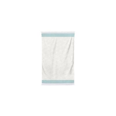 La toalla de invitados de Artea Lagon en algodón