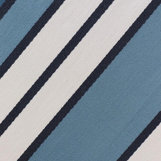 detail herringbone weave espelette tablecloth midnight blue