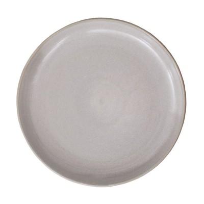 Assiette Plate Mauleon Ecru