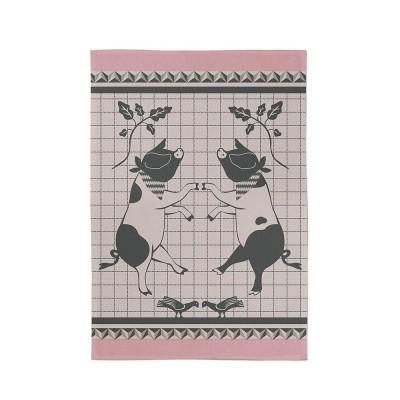 Pink Hand Towel Kontatu Aldudes