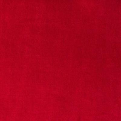 Tissu velours mendi Rouge Piment