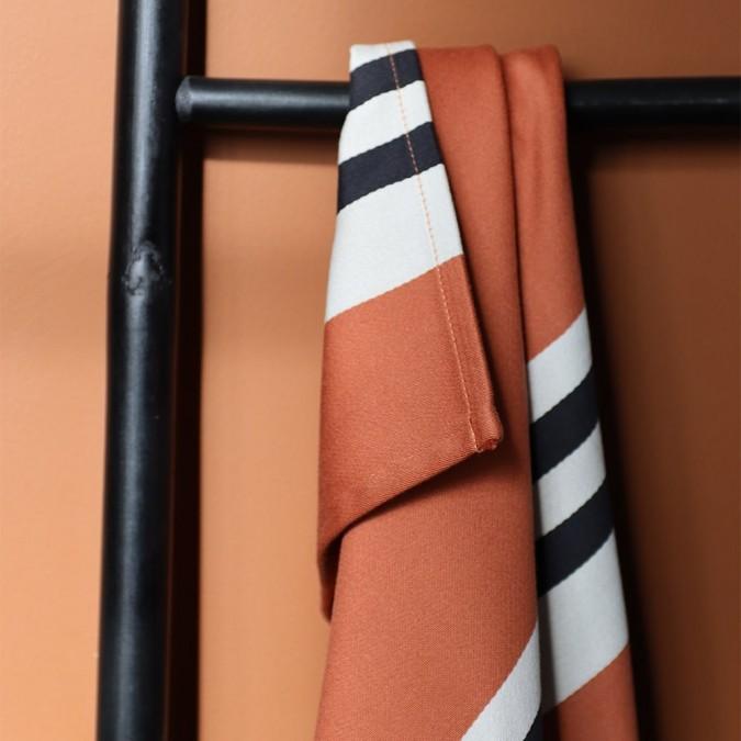 Serviette de table Ainhoa couleur Fronton en coton satin