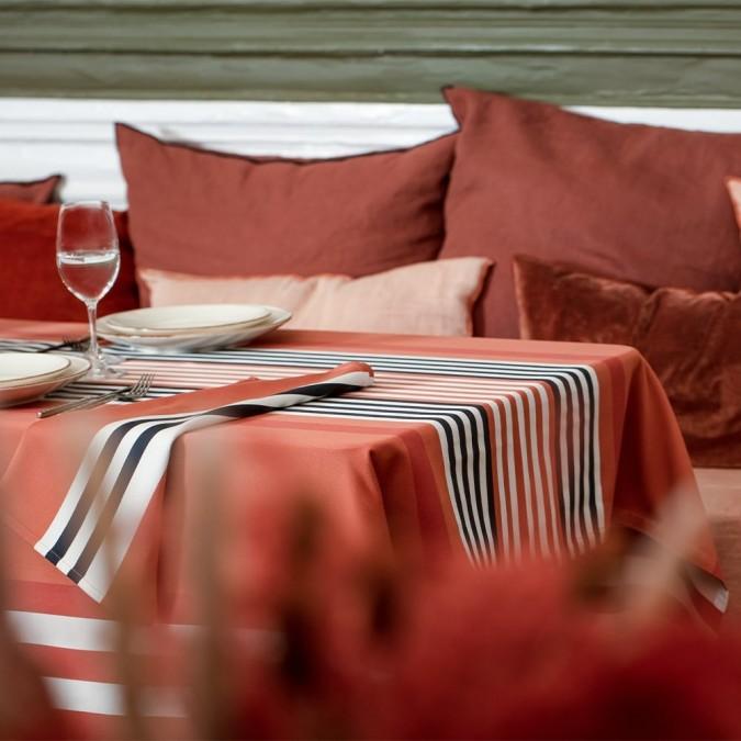 Nappe Ainhoa couleur Fronton 100% coton