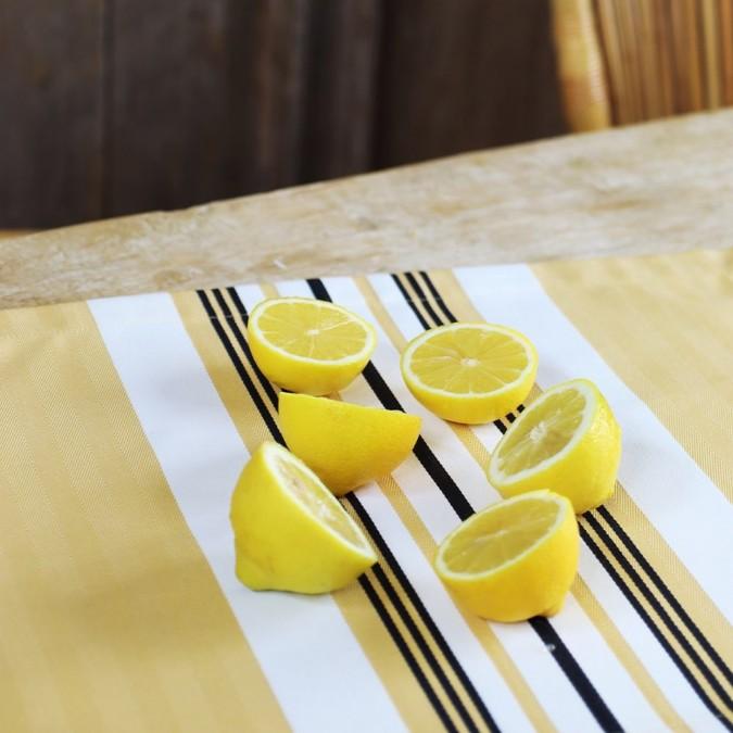 Set de table Donibane Laiton 100% coton
