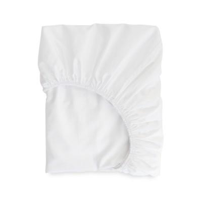 White Ametsa fitted sheet