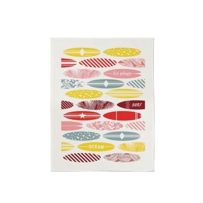 Essuie-mains Koadro Surf multicolore en coton