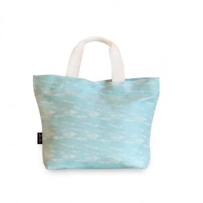 Sac shopping Miramar couleur Turquoise
