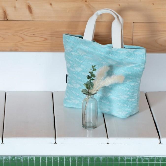 Sac Miramar couleur Turquoise 42x30x13 cm