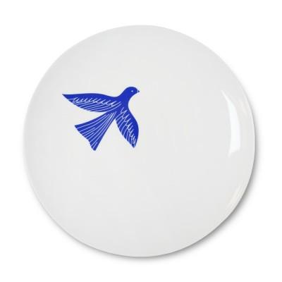 Plate Bakea Ink blue