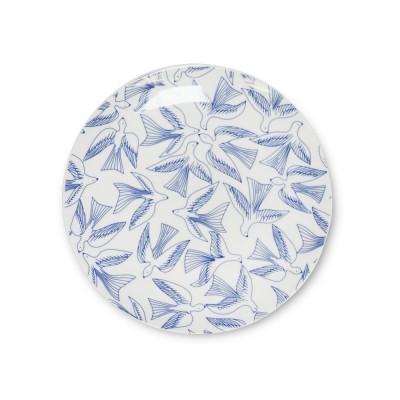 Dessert plate Bakea blue