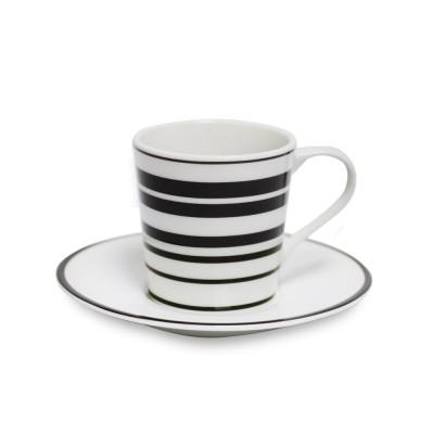 Tasse à café Héritage couleur Noir