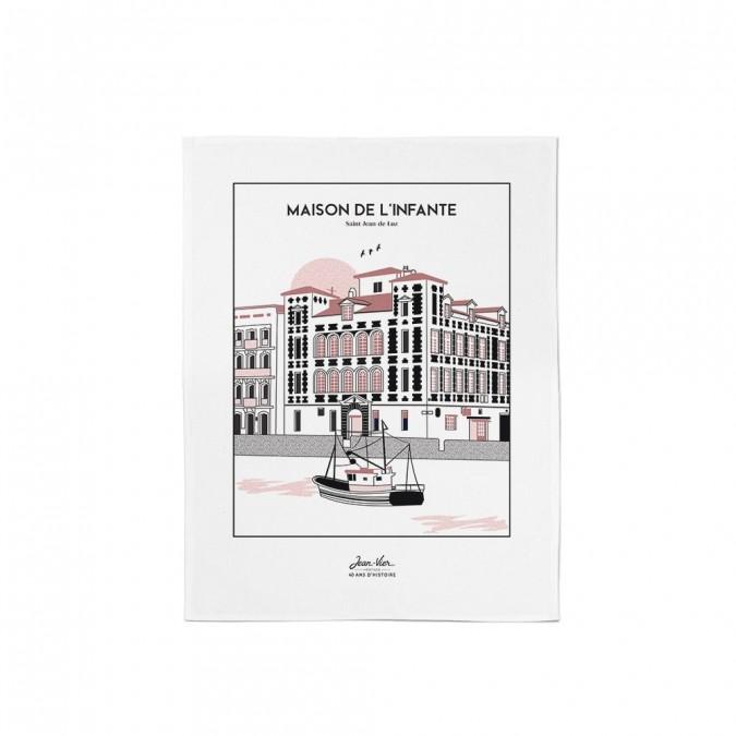 Essuie-mains Koadro Maison de l'Infante collection Printemps Été 2021