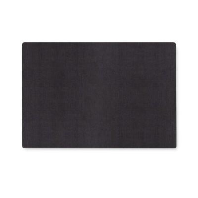 Tête de lit tissu noir