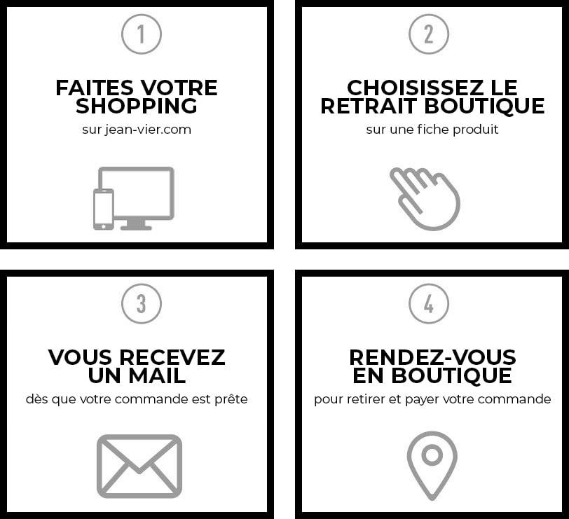 Réservation en boutique Maison Jean-Vier
