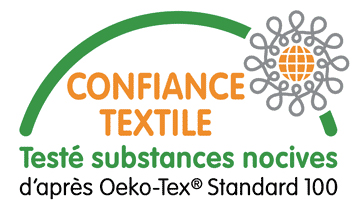 Nappe de table label Oeko-tex